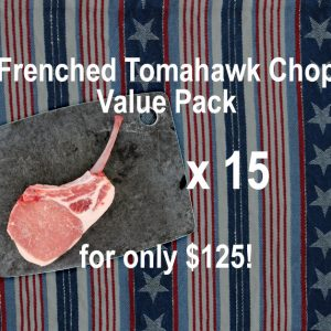 Frenched Tomahawk Chop Bundle